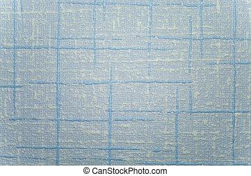 azul, padrão, branca