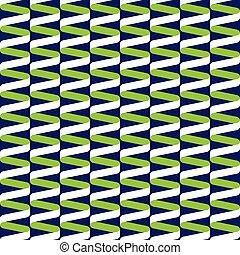 azul, padrão, espiral, onda, verde, seamless, fita