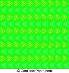azul, padrão, listras, amarela, experiência., verde, corações, cruzar-se