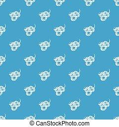 azul, padrão, seamless, vetorial, cobra, texas