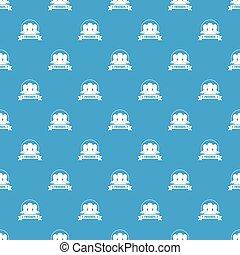 azul, padrão, vetorial, amigos, seamless