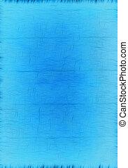 azul, papelão, antigas, textura, fundo