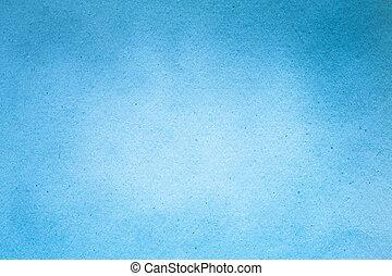 azul, papel, antigas, (horizontal), textura