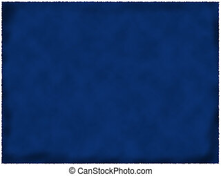 azul, papel, queimado