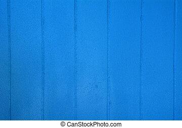 azul, parede, textura, cimento