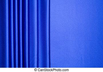 azul, patrón, raso, rayas