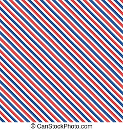 azul, patrón, seamless, blanco, patriótico, geométrico, rojo