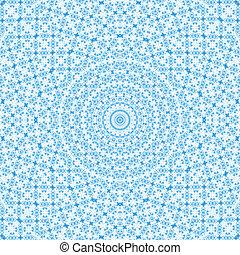 azul, patrón