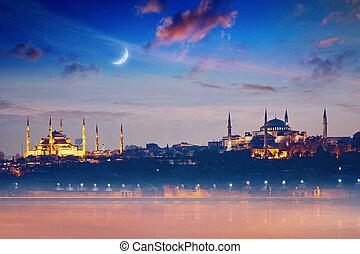 azul, peru, hagia, marcos, mesquita, istambul, famosos, sophia