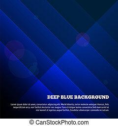 azul, profundo, fundo