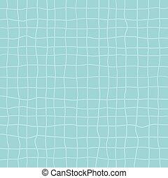 azul, quadrante, linhas