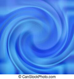 azul, redemoinho