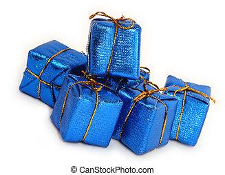 azul, regalos, #2