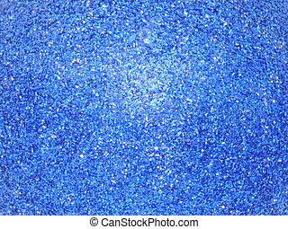 azul, resplandor, plano de fondo