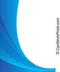 azul, resumen, composición