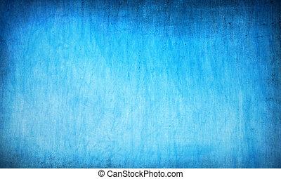azul, resumen, grunge, plano de fondo