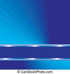 azul, resumen, líneas, plano de fondo