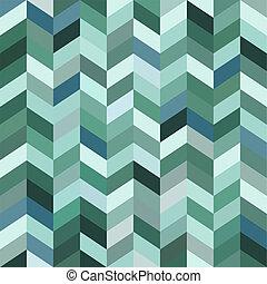 azul, resumen, mosaico, plano de fondo