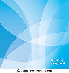 azul, resumen, plano de fondo, vector