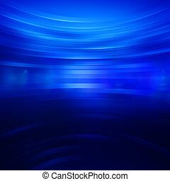azul, resumen, tiras, papel pintado, brillar