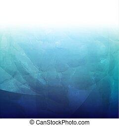 azul, retro, fundo