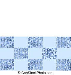 azul, retro, plano de fondo