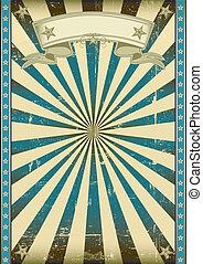 azul, retro, plano de fondo, textured