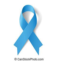 azul, ribbon.