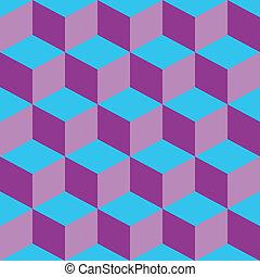 azul, roxo, misturado, piscodelica, padrão