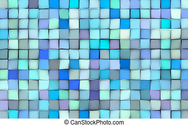 azul, roxo, padrão, abstratos, superfície, azulejo, misturado, fundo