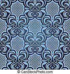 azul, seamless, padrão papel parede