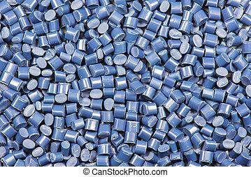 azul, sintetico, tingido, polímero