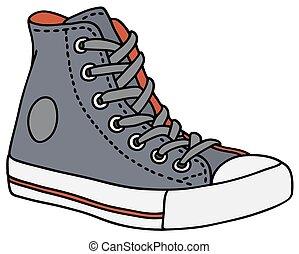 azul, sneaker