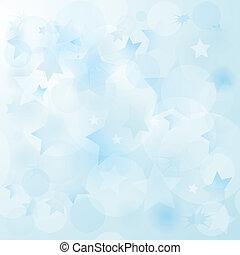 azul, suave, natal, fundo