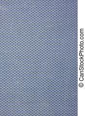 azul, têxtil, grosseiro, fundo