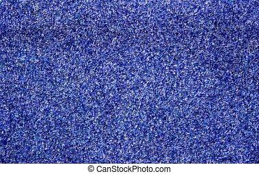 azul, tapete