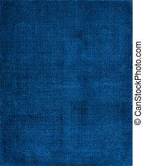 azul, tela, plano de fondo