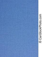 azul, textil, cubierta de libro