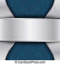 azul, texto, lugar, plata, plantilla