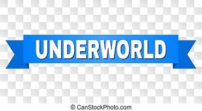 azul, texto, underworld, fita