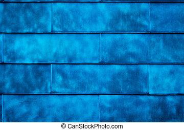 azul, textura, fundo