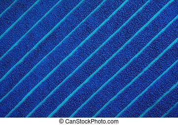 azul, toalha praia, textura