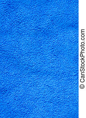 azul, toalla, baño