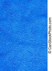 azul, toalla de baño