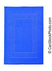 azul, toalla