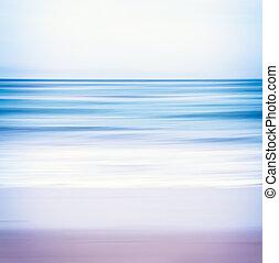 azul,  toned, Vista marina