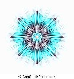 azul, turquesa, estrela