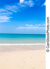 azul, turquesa, mar de la arena, playa blanca