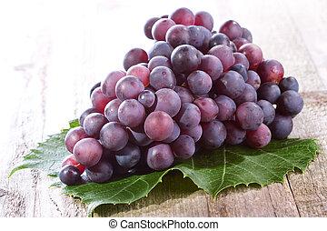 azul, uva
