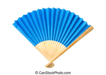 azul, ventilador